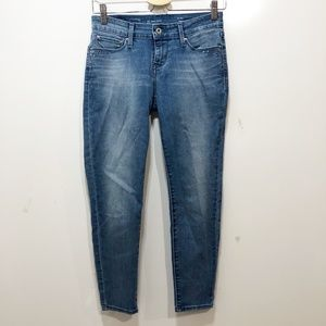 LEVIS Demi Curve Jeans 25 in Wt Skinny Distressed